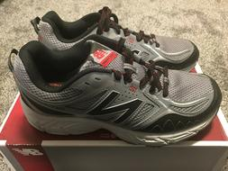 Mens Size 8.5 New Balance Trail Running Shoes Sneakers Black