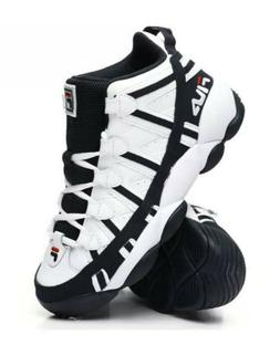 FILA MENS STACKHOUSE SNEAKERS WHITE /NAVY /RED