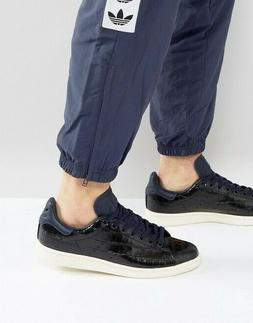 Adidas Mens Stan Smith Snake Blue Ink Sneakers Size 7.5   BZ