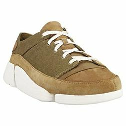 Clarks Mens White Trigenic Evo Sneakers