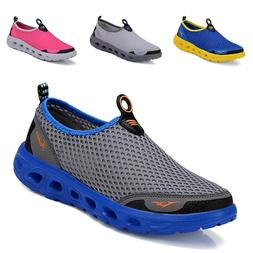 Mens Womens Shoes Fashion Sneakers Breathable Mesh Shoes Cas
