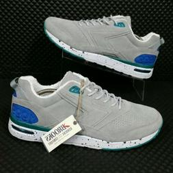 *NEW* Brooks 1999 Fly Casual Fusion  Suede Sneakers Gray Blu