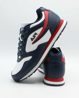 NEW 2019 MENS FILA CLASSICO 18 LIMITED EDITION WHITE NAVY RE
