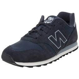 New MENS NEW BALANCE NAVY BLUE 373 SYNTHETIC Sneakers Retro