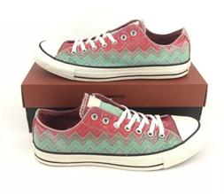 NEW Converse Missoni Chuck Taylor Ox Mens Shoes Sneakers Gre