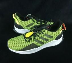 NEW Adidas Questar Trail Running Shoes Sneakers Yellow Black