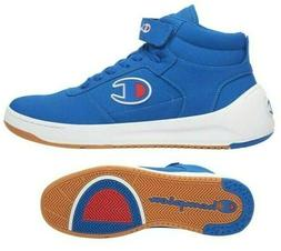 New CHAMPION Super Court Mid Mens Shoes Sneakers blue