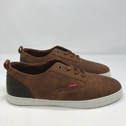 NWT Levi's Mens Vegan Leather Sneakers Size 13