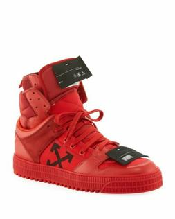 Off-White Mens' c/o Virgil Abloh HIGH TOP Off Court Sneakers
