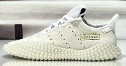 Adidas Originals Kamanda 01 White Sneakers Pigskin Gold DB27