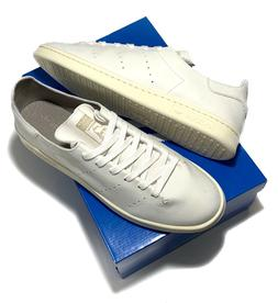Adidas Originals Mens Stan Smith Leather Sock Casual Sneaker