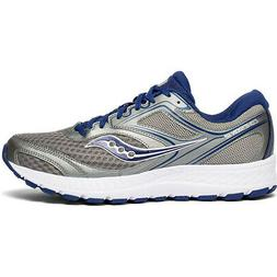 Saucony S20471-1 Cohesion 12 Grey / Blue Mens Running Shoes