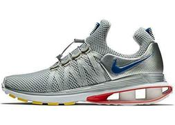Nike Shox Gravity Silver Blue White Red Men's Shoes Trainers