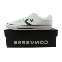Converse Star Player OX Low White Black Sneakers 163111C NEW