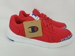Champion Super Court Low Mens Sneaker Shoes Red White Size 8