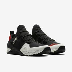 NIKE TECH TRAINER - New Men's Trainer Shoes Black White Gym