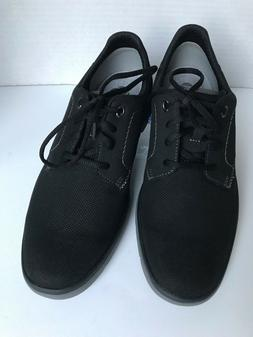 Clarks Tunsil Plain Oxford Fashion Sneakers Black Lace Up FR