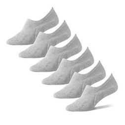 Amazon Essentials Women's 6-Pack Stay in Place Cotton Sneake
